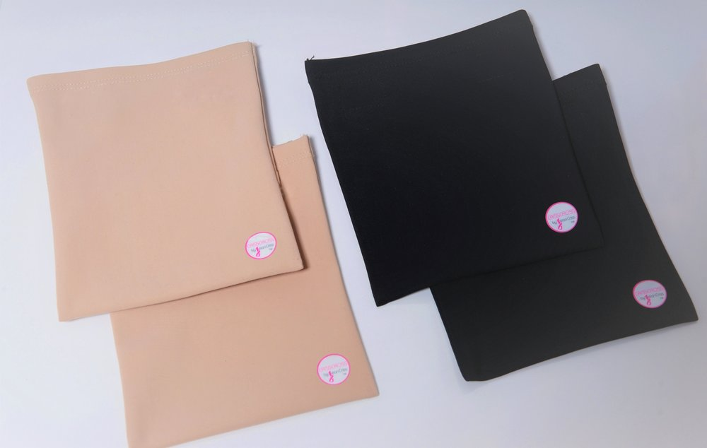 Purchase a CRISSCROSS Pouch to support your drainage tubes. Buy one, two or as many as required to support your needs.
