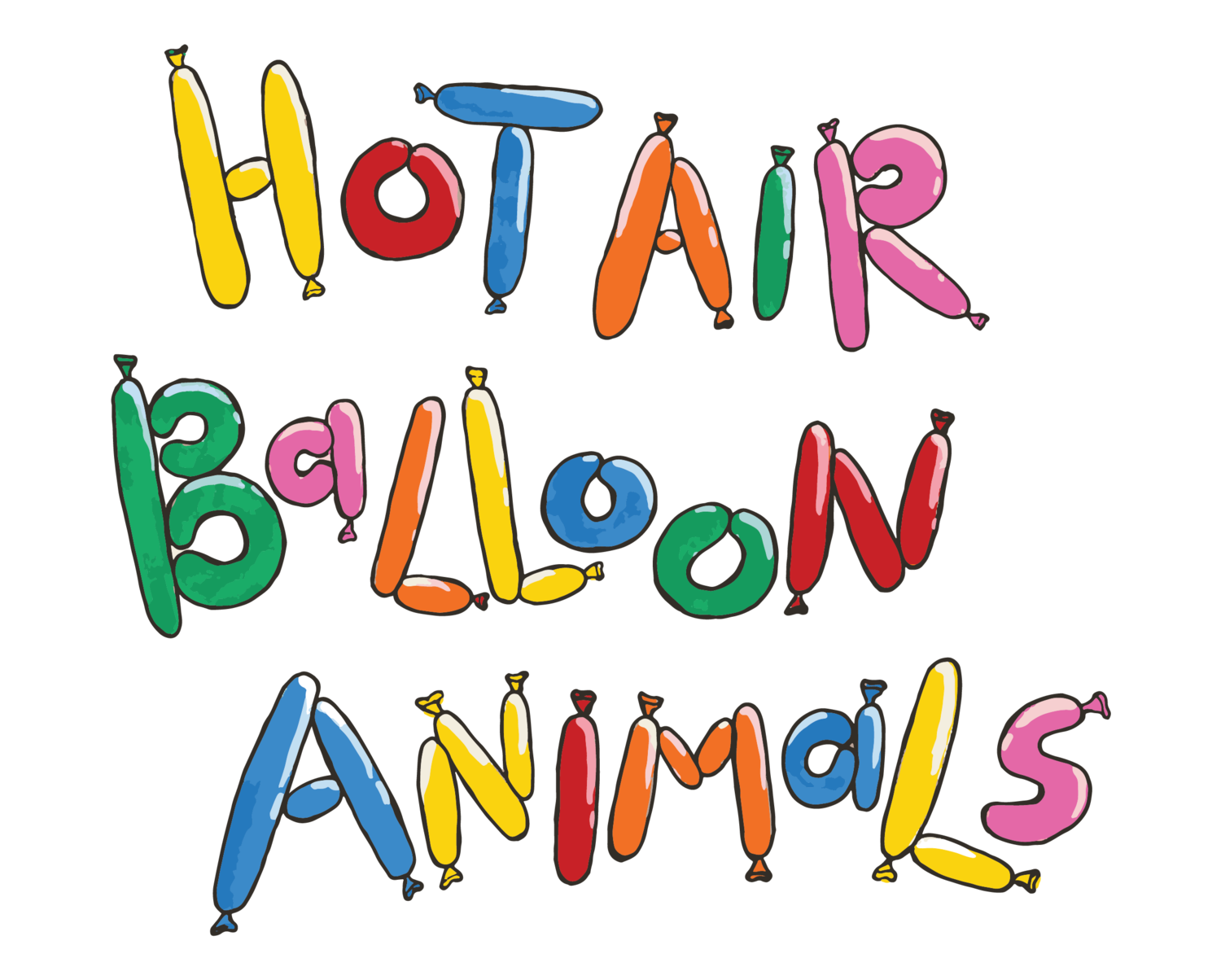 Hot Air Balloon Animals