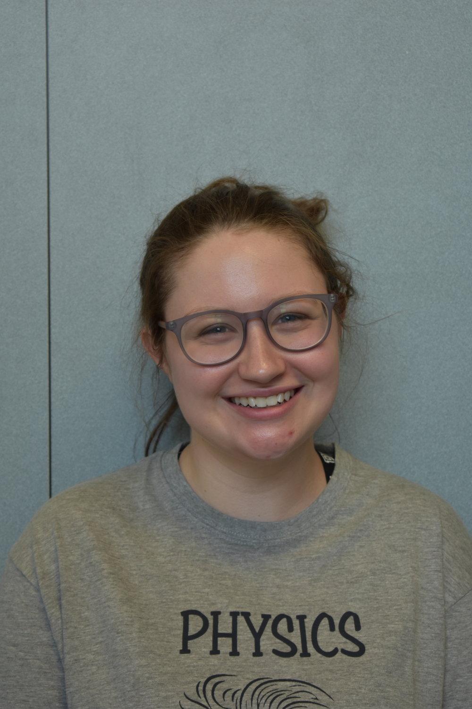 Camryn McMullan, Treasurer