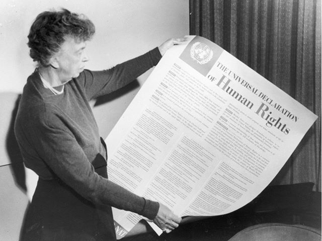 """All human beings are born free and equal in dignity and rights."" #HumanRightsDay ----- At our monthly meeting last week, we joined in a discussion on how relevant this powerful document, largely done by Eleanor Roosevelt, is still today - even 60 years later. Take a minute to read up on the history of this day and these incredible words we hope to accomplish as part of our mission! https://www.npr.org/2018/12/10/675210421/its-human-rights-day-however-its-not-universally-accepted #zontahhi #zontaempowered #humanrightscampaign #zontainternational #hiltonhead #hiltonheadisland #bluffton #blufftonsc"
