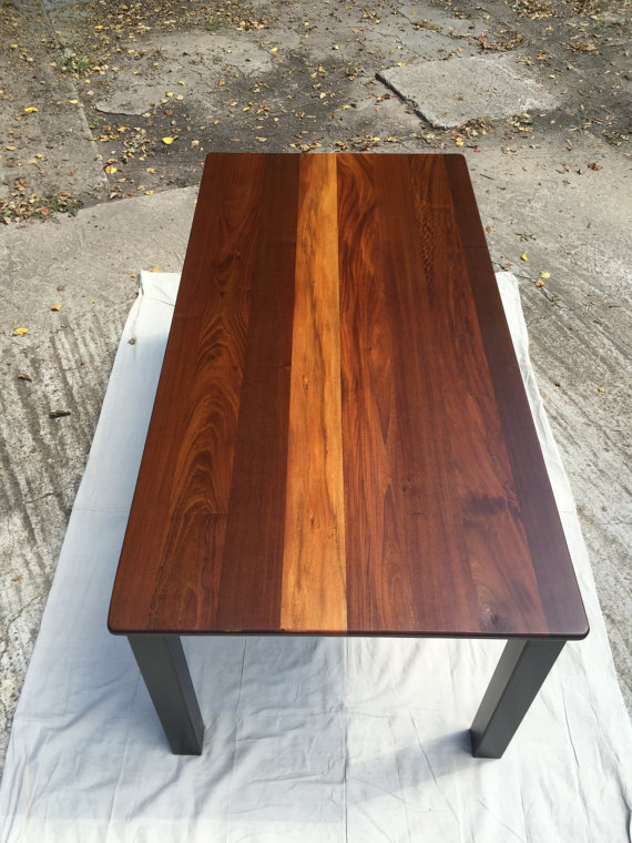 SOLID SOUTH AMERICAN IPE DINING TABLE