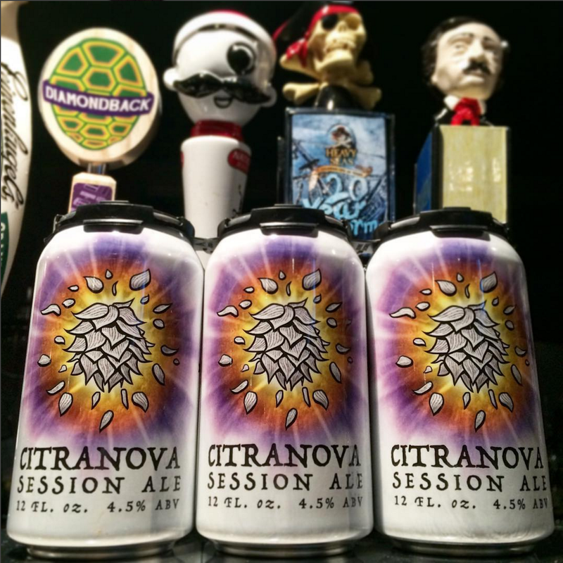 "Diamondback Beer's ""Citranova"" - Can Design - 2016"