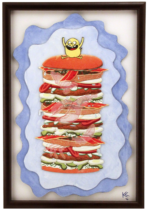 Jake's Perfect Sandwich - featured in the Gallery Nucleus - 2014