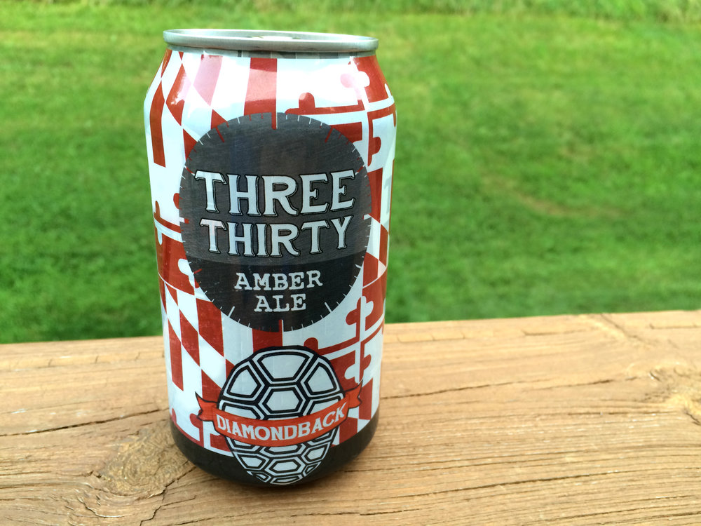 "Diamondback Beer's ""Three Thirty"" - Can Design - 2016"