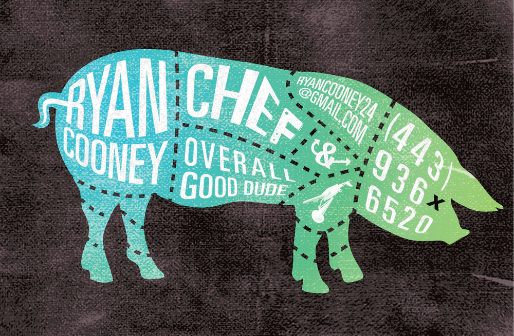 Business Card Comission - Chef Cooney