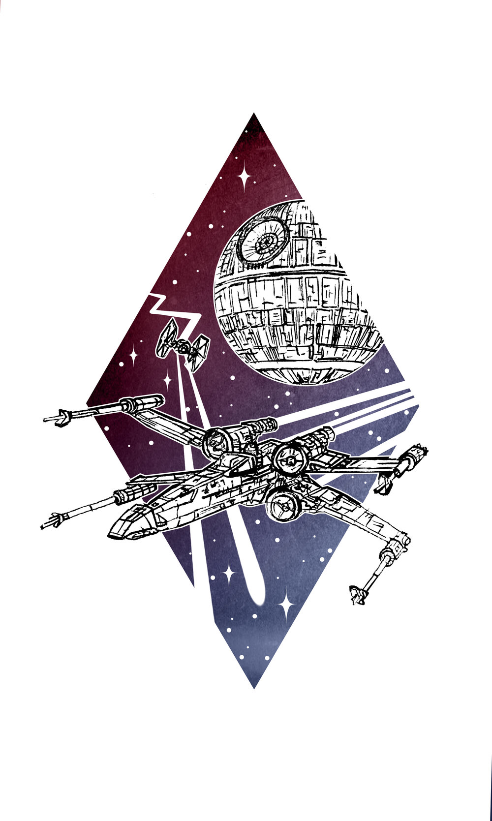 X Wing - Tattoo Concept