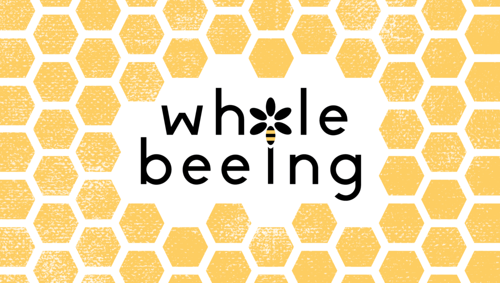 """Whole Beeing"" - Logo and business card design"