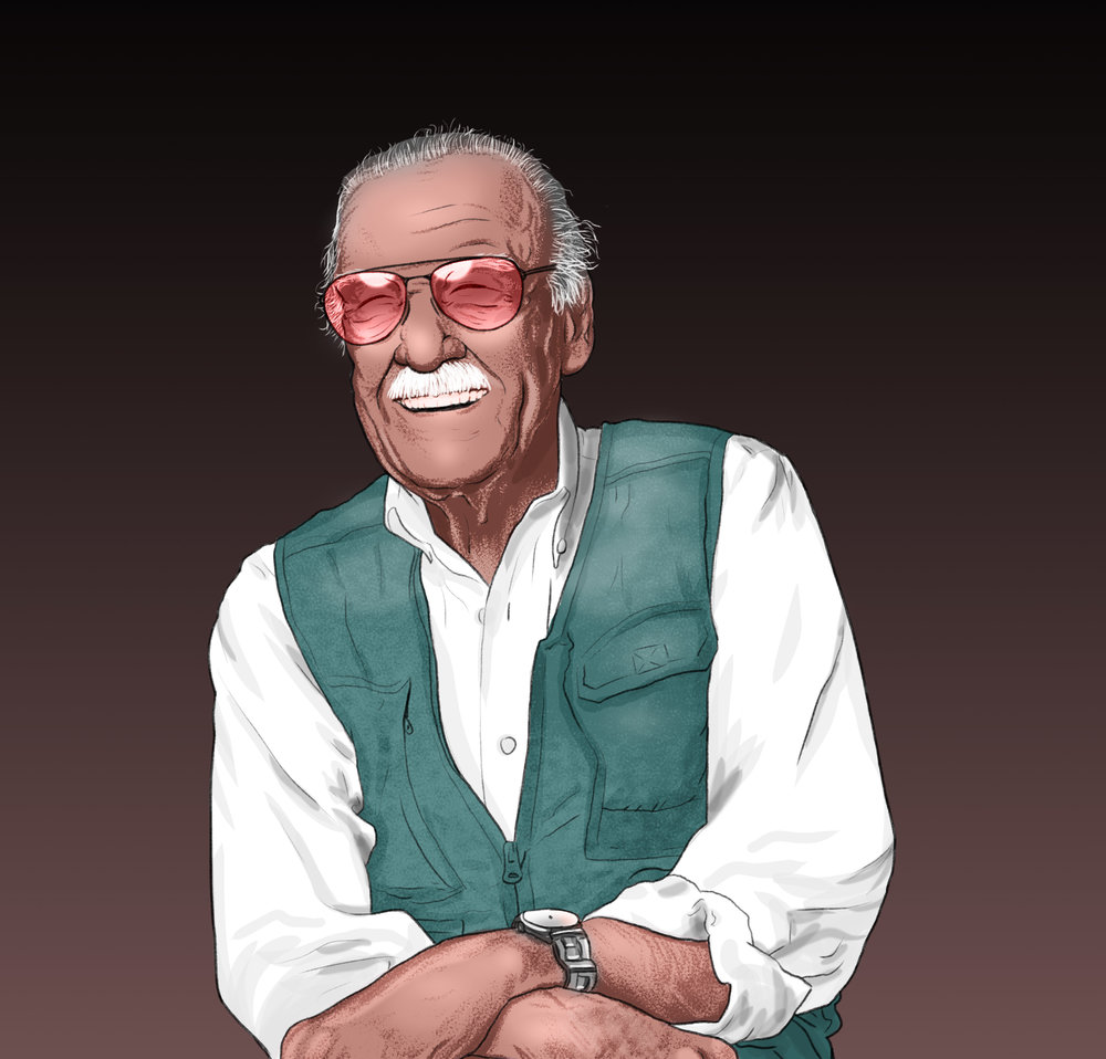Stan Lee - Tribute Portrait