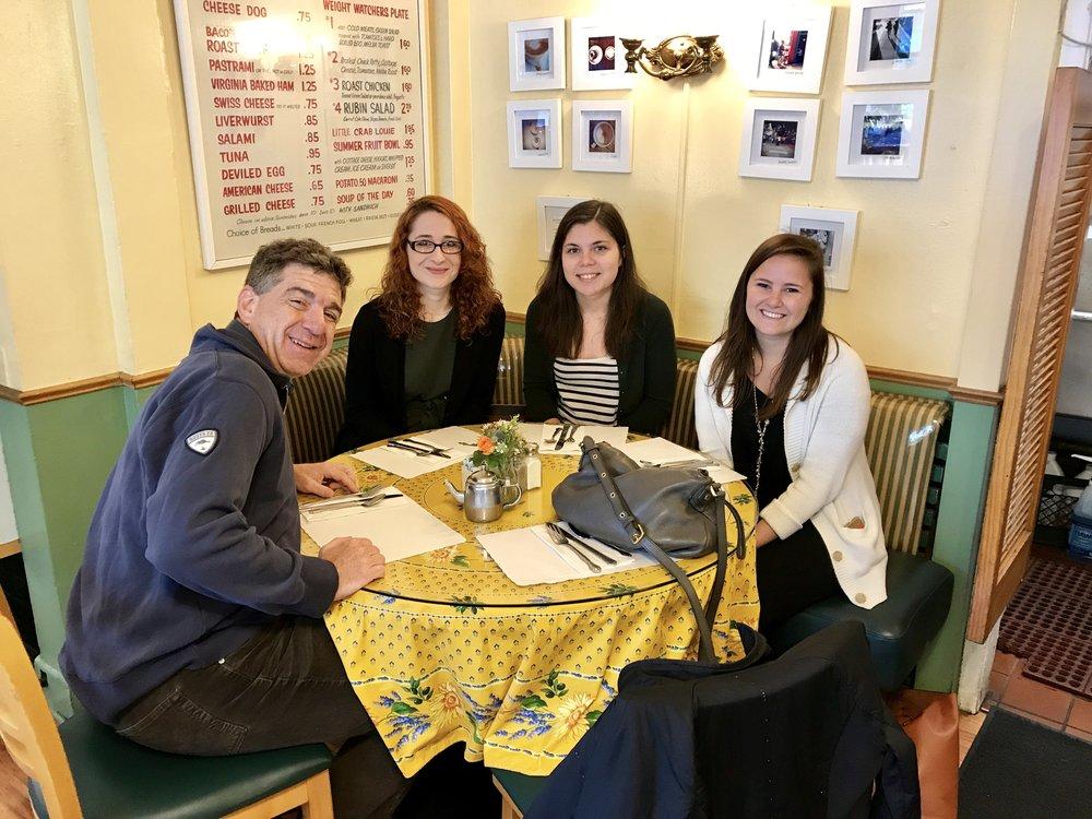Group breakfast during JPS 2017