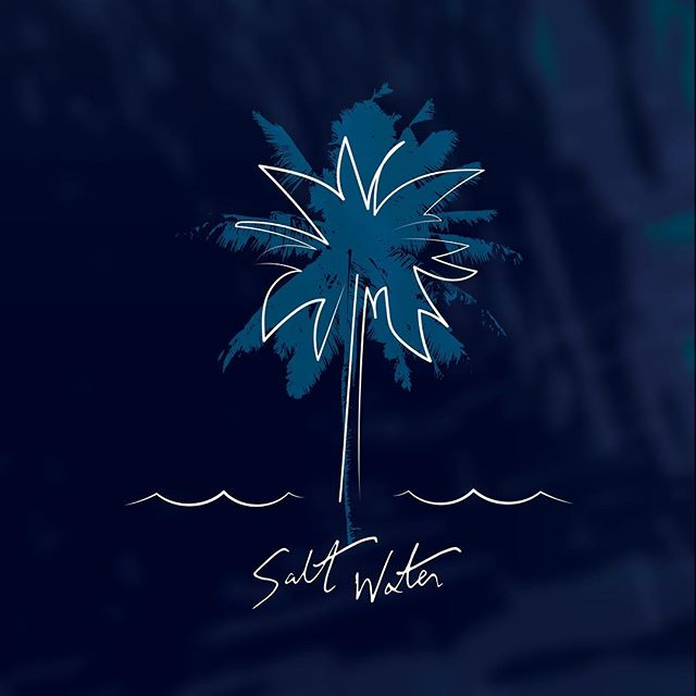 Album artwork for @matthewmozingo's upcoming EP Salt Water. Fantastic project; keep your ears out when it releases this Friday 4/19!
