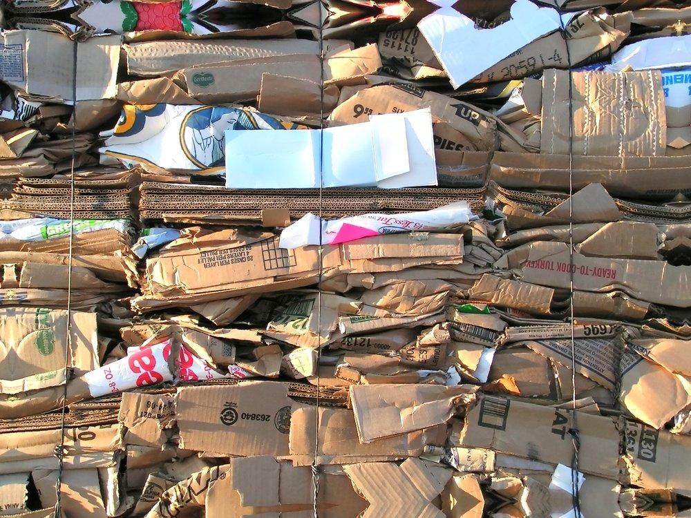 Paper Waste / Kağıt Karton Atığı