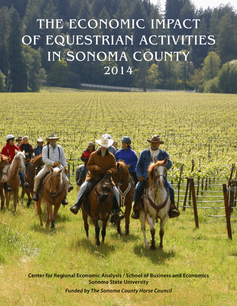 ECONOMIC IMPACT OF EQUESTRIAN ACTIVITIES IN SONOMA COUNTY