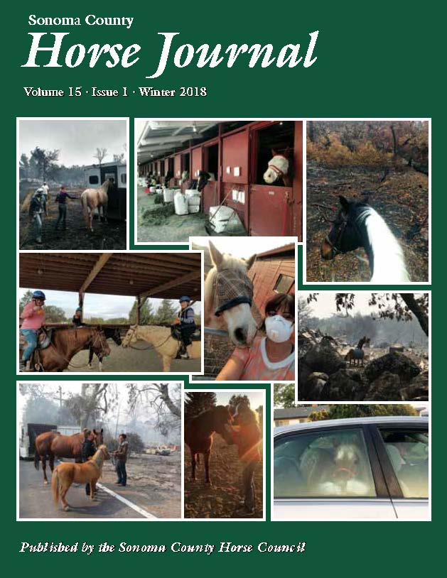 Sonoma County Horse Council Horse Journal Winter 2018