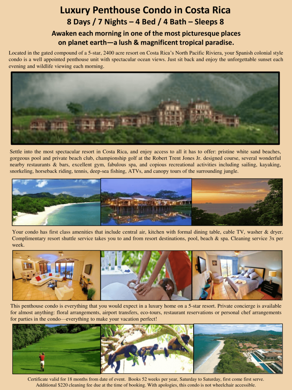 Costa Rica Penthouse Condo