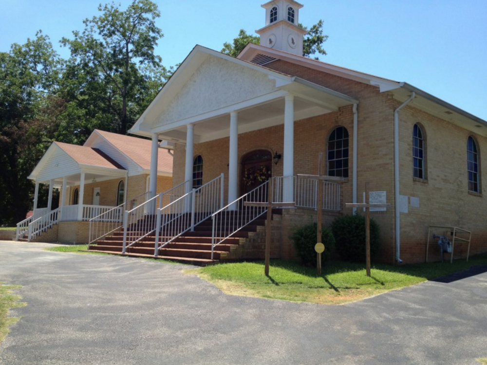 Present day New Hope Missionary Baptist Church