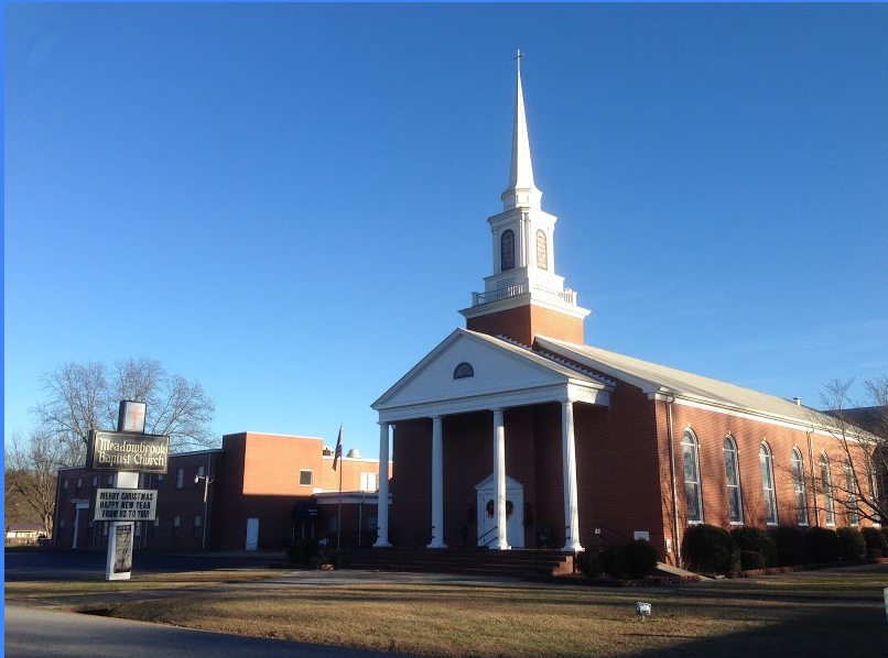 Present day Meadowbrook Baptist Church