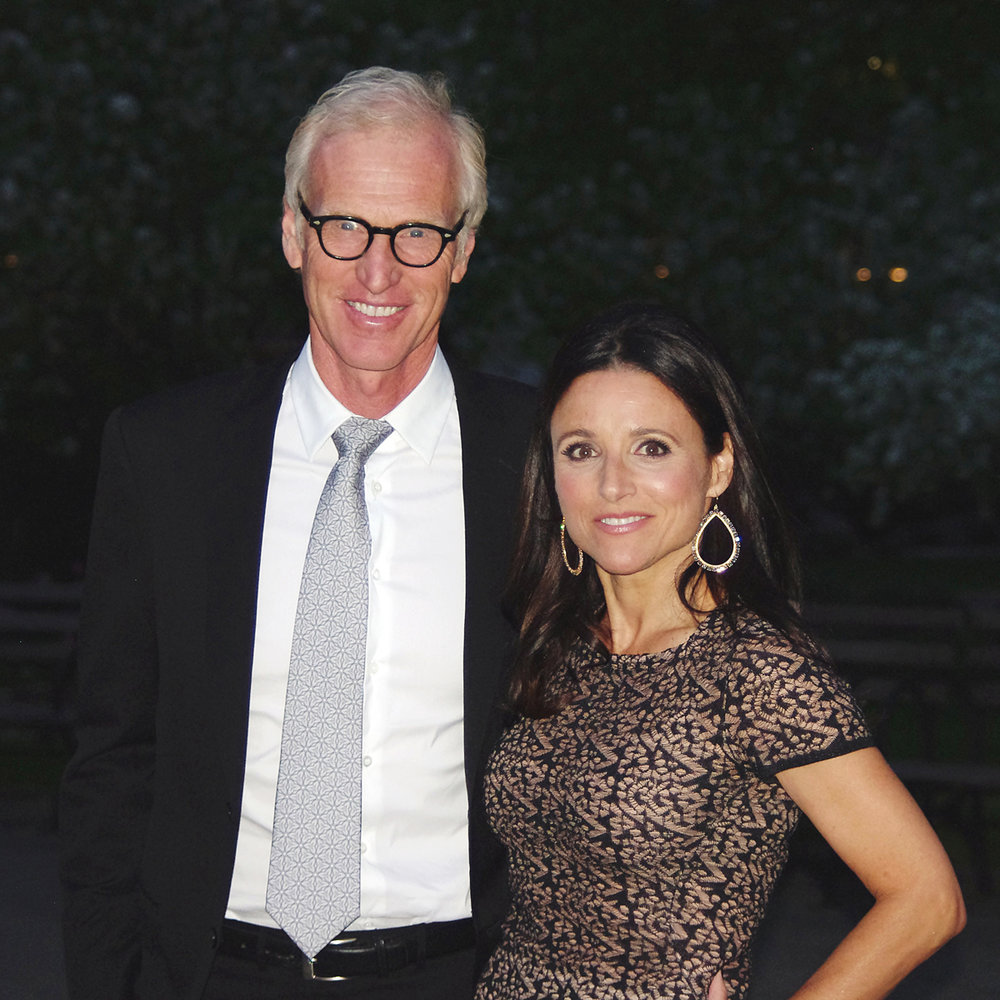 Actors Brad Hall and Julie Louis-Dreyfus