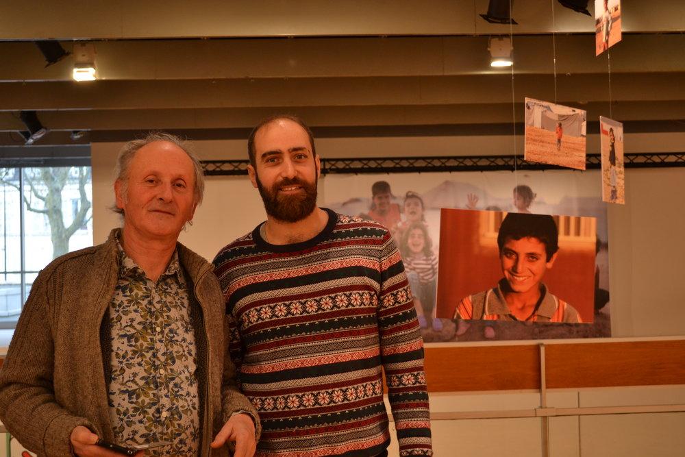 Philippe Gasnier et Manar Bilal