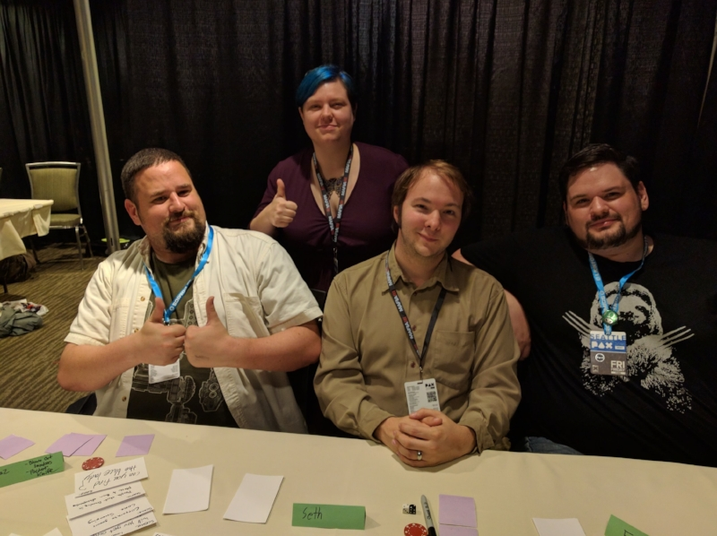 Our brave playtesters!