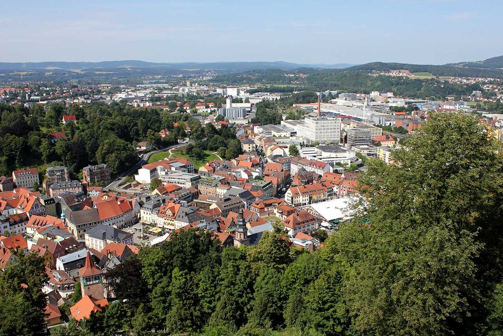 Kulmbach from on High