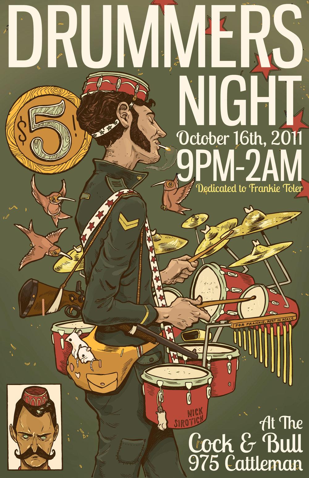 Drummers Night  , Sarasota FL, 2011
