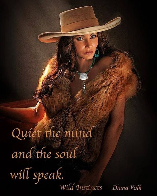 Quiet the mind and the soul will speak. Fabulous Fox fur collar available at @wildinstincts , photo by @dianavolkphotography , model @bobbi_jeen_olson , US Ambassador FoRe The American Cowboy, hair/makeup by @ms.thomas.creates , necklace by Lone Eagle Studios, location The Museum of Casa Grande, Caryl Wilson, Cheryl Sikes, @westerntradingpost