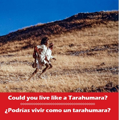 ¿Could you live like a Tarahumara?¿Podrías vivir como un tarahumara? Don Burgess and Bob Schalkwijk
