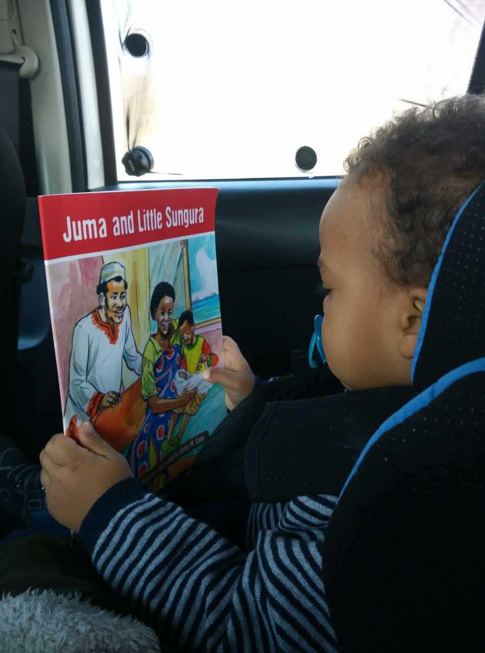 fan reading Juma and Little Sungura