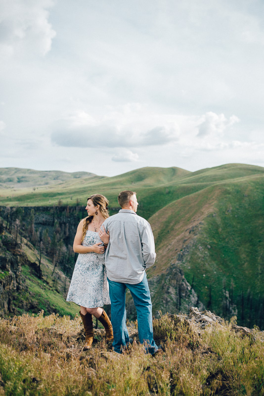 Mountain Home, Idaho engagement photographer