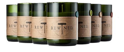 Rewind Signature Wine Bottle Candles