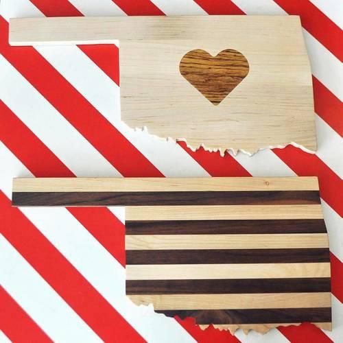 Oklahoma Cutting Boards Northroad Creations