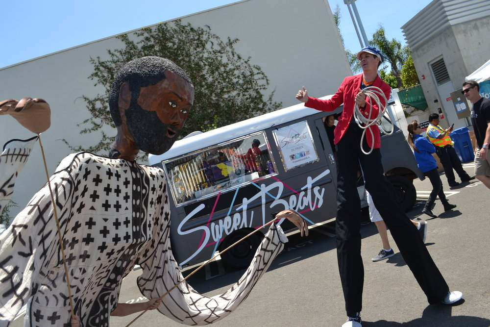 DJ service for the city of Santa Monica events