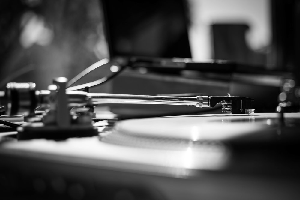 (DJ Services) Turntables on the Sweet Beats Truck