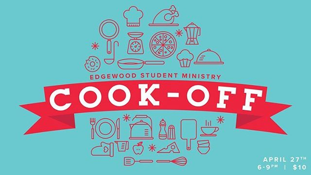 Don't miss this Friday's event, ESM's Cook-Off! 6-9PM for $10. See you all there!