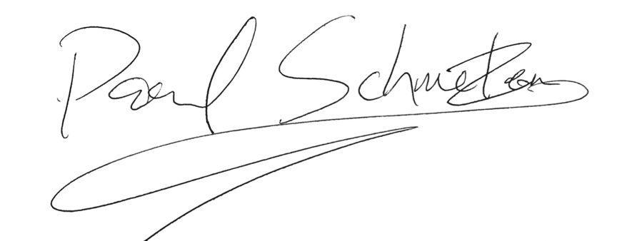 Paul Schmelzer, as signed by Ben Davis