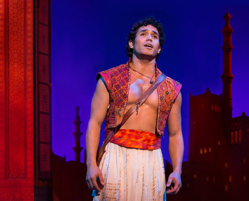 ADAM JACOBS - Broadway: Aladdin (Aladdin) Drama Desk nomination, Les Miserables (Marius), The Lion King (Simba).  National Tours: Mamma Mia! (Sky), Cinderella (Prince), Les Miserables (Marius), The Lion King (Simba).  Favorite Regional:  Zorro (Zorro) at Alliance Theater (Suzi nomination),  Once On This Island (Daniel) at Paper Mill Playhouse, Harvey Milk (Young Harvey) at San Francisco Opera. BFA from NYU. Adam's debut album, Right Where I Belong, featuring songs by Alan Menken, is available on iTunes. @AdamJacobsNYC