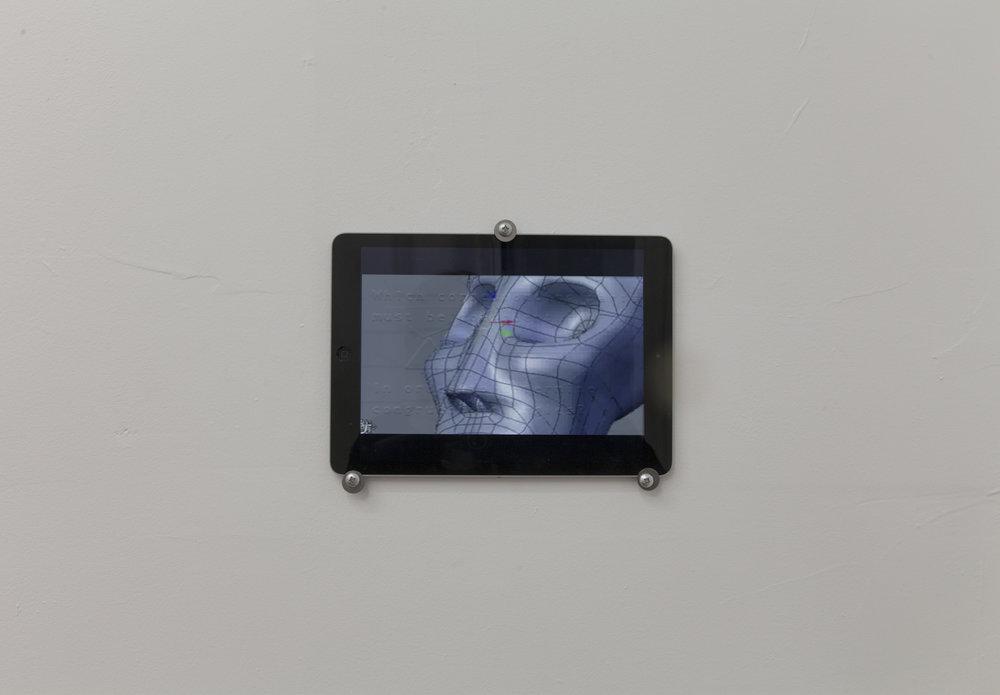 Shireen Alia Ahmed,  In folds of a Durée , 2016, digital video, 7:39 loop