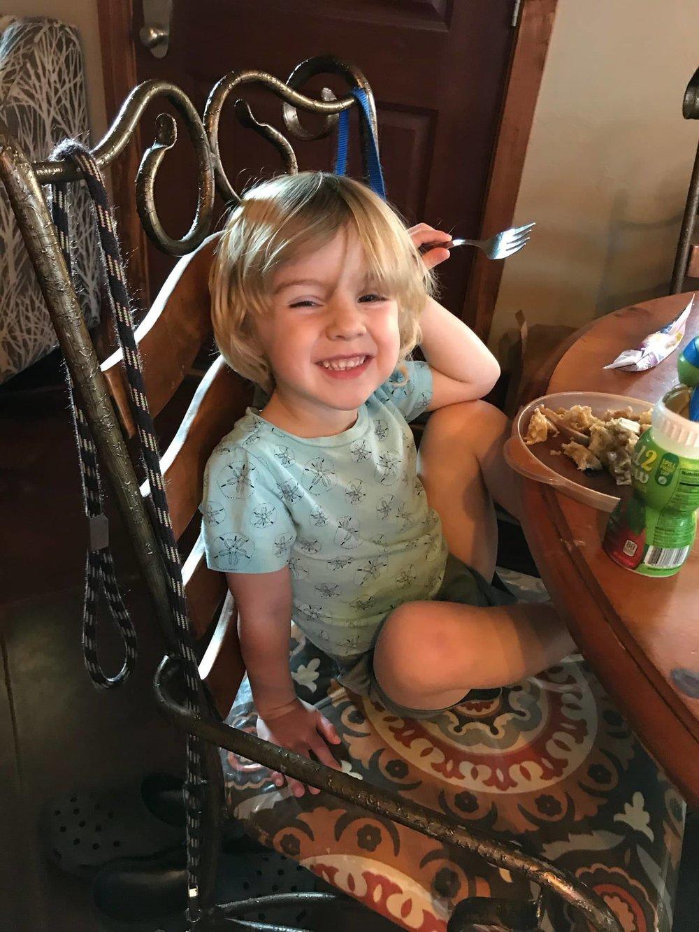 Parker, age 3 -