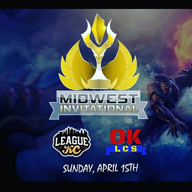 GetRECt presents the Midwest Invitational, an elite competition between the Top 3 teams in each division of OKLCS and LeagueKC!  Sunday, April 14. @leaguekc__