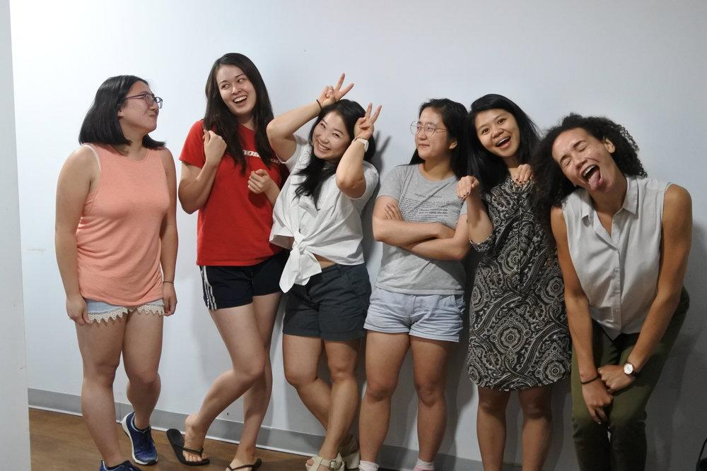 Summer 2017 Interns - Erica CheungJade GleasonGloria Park