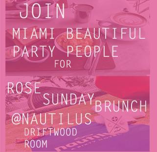 Rose Sunday Brunch