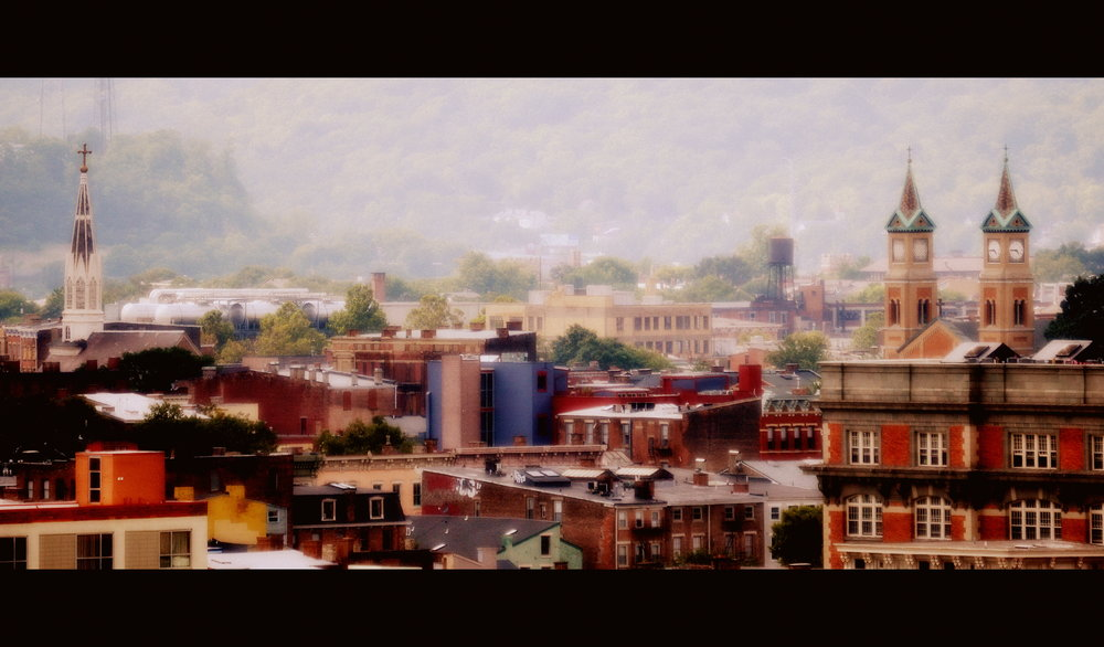 A view of OTR, Cincinnati, Ohio.