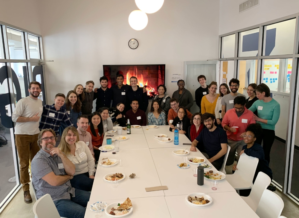 Office Thanksgiving on Nov 19th, 2018 at Blue Ridge Labs