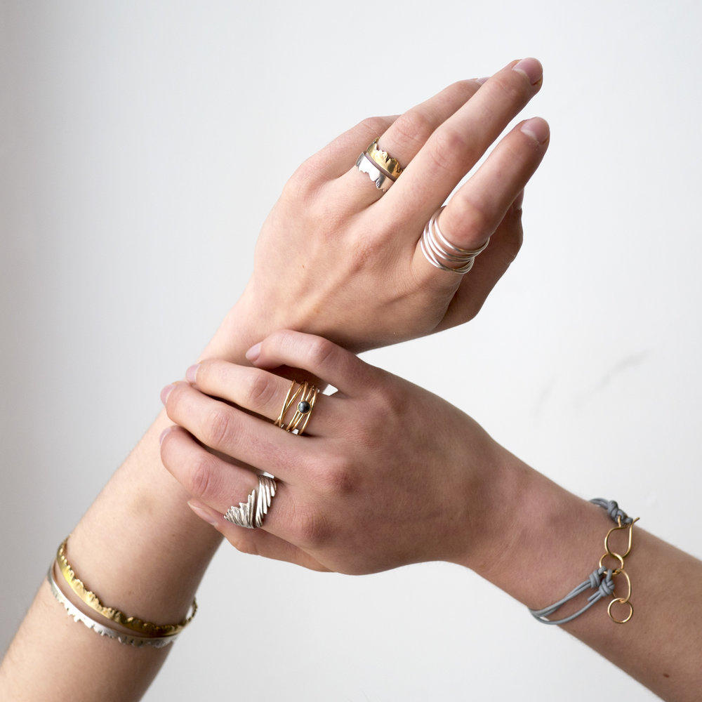 Hardworking and expressive, your hands deserve some meaningful and artistic adornment.