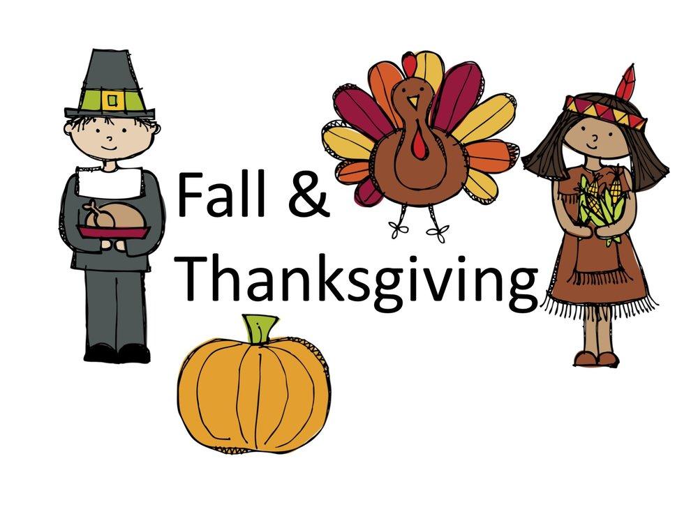 Unit 6: Fall & Thanksgiving - Coming Soon! Available Saturday, November 4
