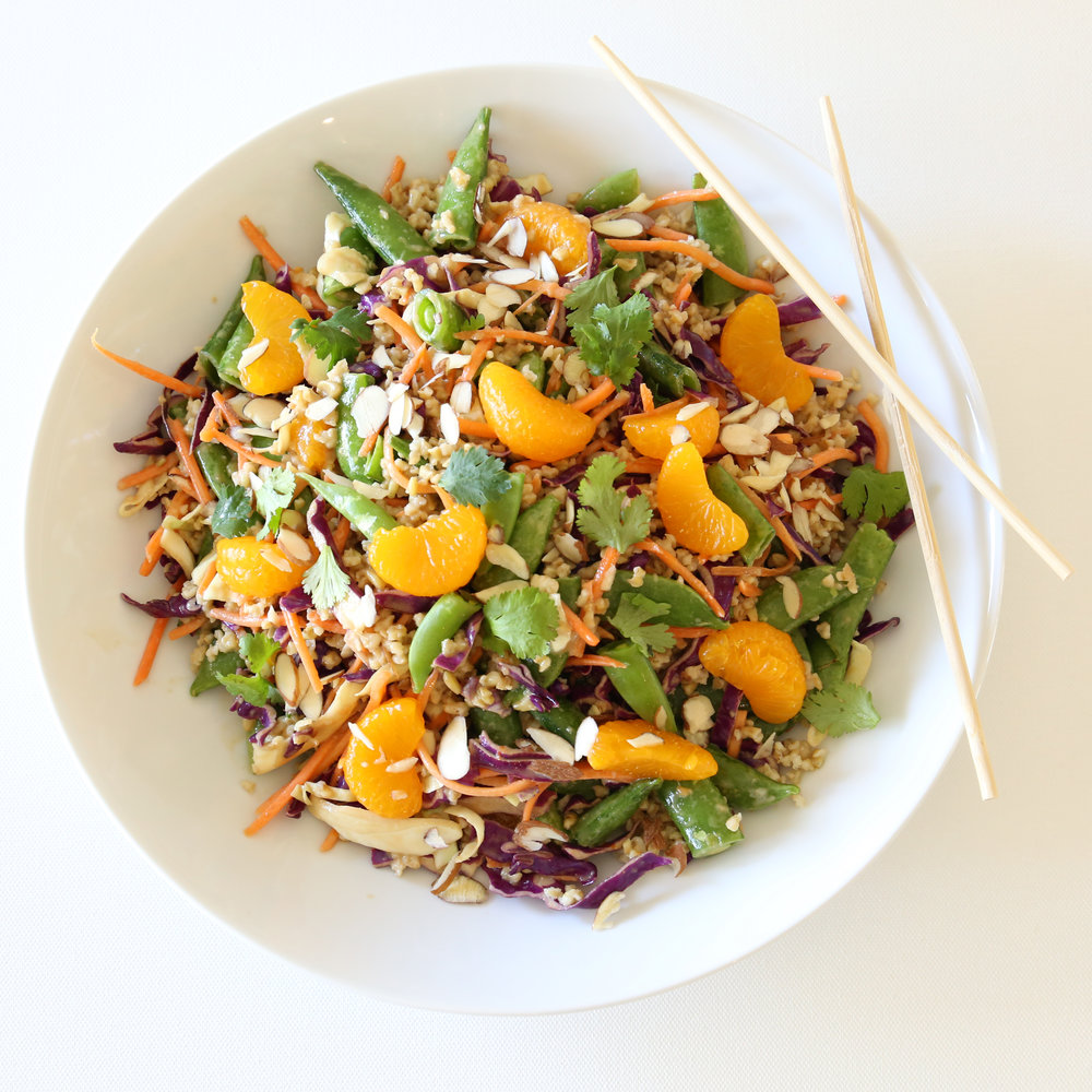 MANDARIN FREEKEH  SALAD
