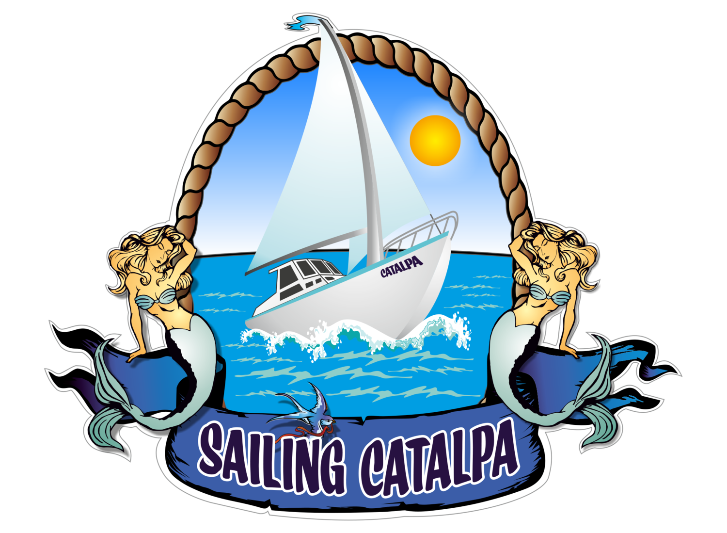 Sailing Catalpa