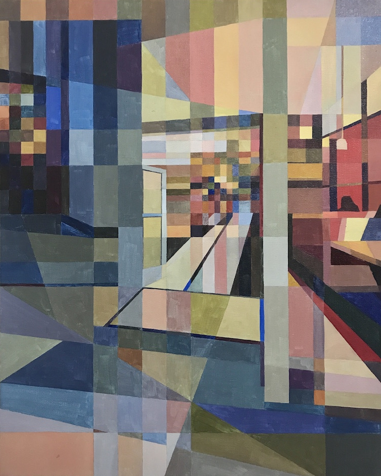 Interiors and Exteriors, 30x24