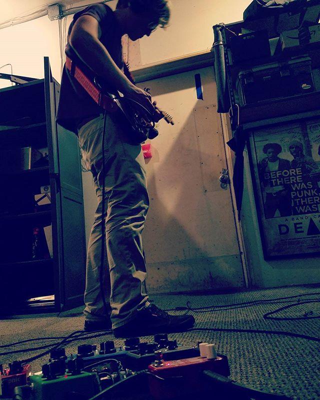 Still at work. #localmusic #pdxmusic