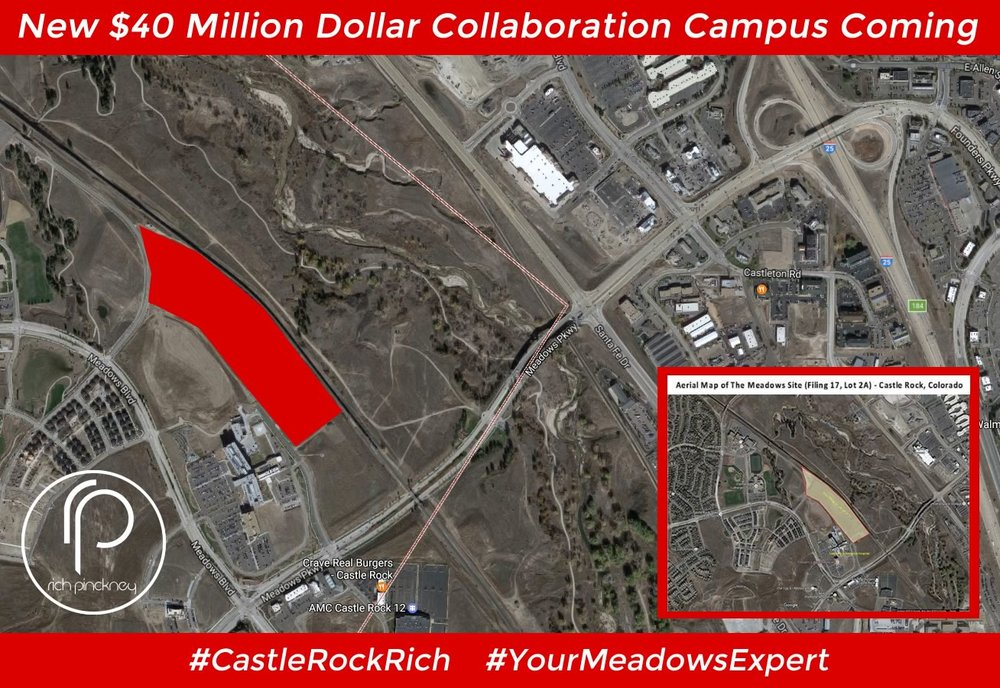 "New Arapahoe Community College Expansion coming to Castle Rock - dubbed the ""Collaboration Campus"""